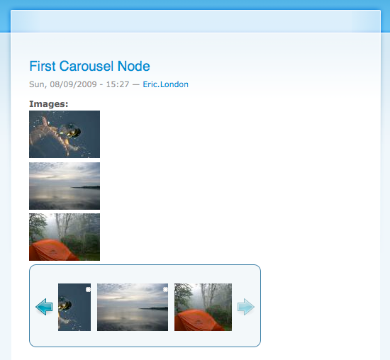carousel node view
