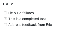 Github PR tasks