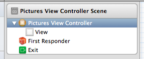 pictures view controller