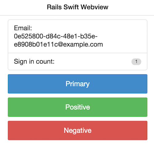 Rails Ratchet Webview