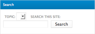 Search form block empty topic