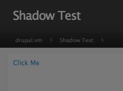 Shadow On