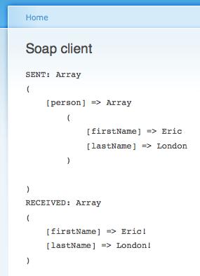 soap client