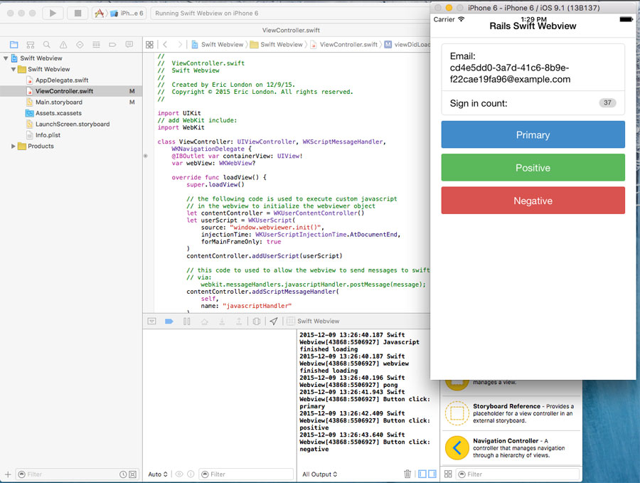 Swift Webview 4